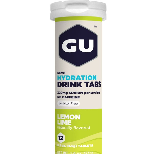 Gu Electrolyte Tablets – Lemon Lime
