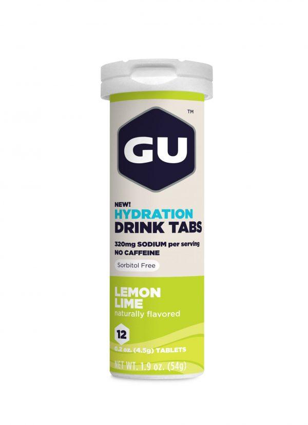 Gu Electrolyte Tablets - Lemon Lime