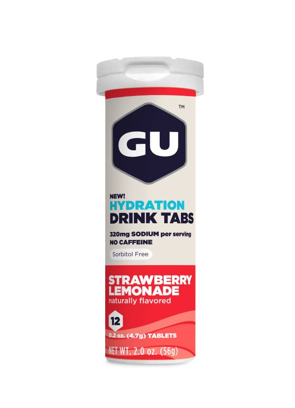 Gu Electrolyte Tablets - Strawberry Lemonade