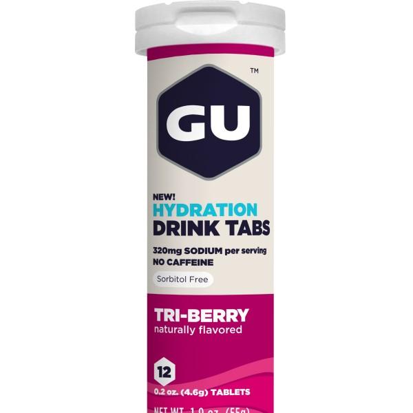 Gu Electrolyte Tablets – Tri Berry