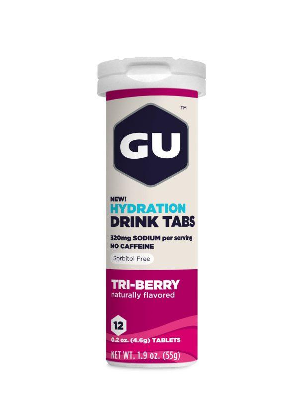 Gu Electrolyte Tablets - Tri Berry