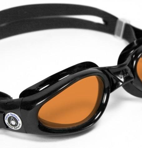 Lente KAIMAN (Negro-Vidrio Naranja) Aqua Sphere