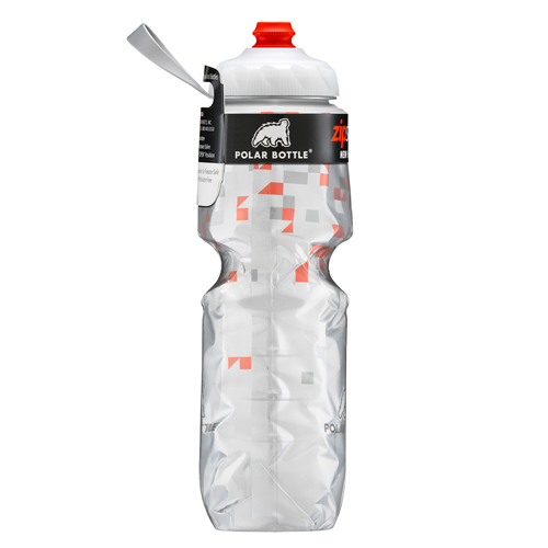 Insulated Zipstream – 24oz. Rojo Polar Bottle