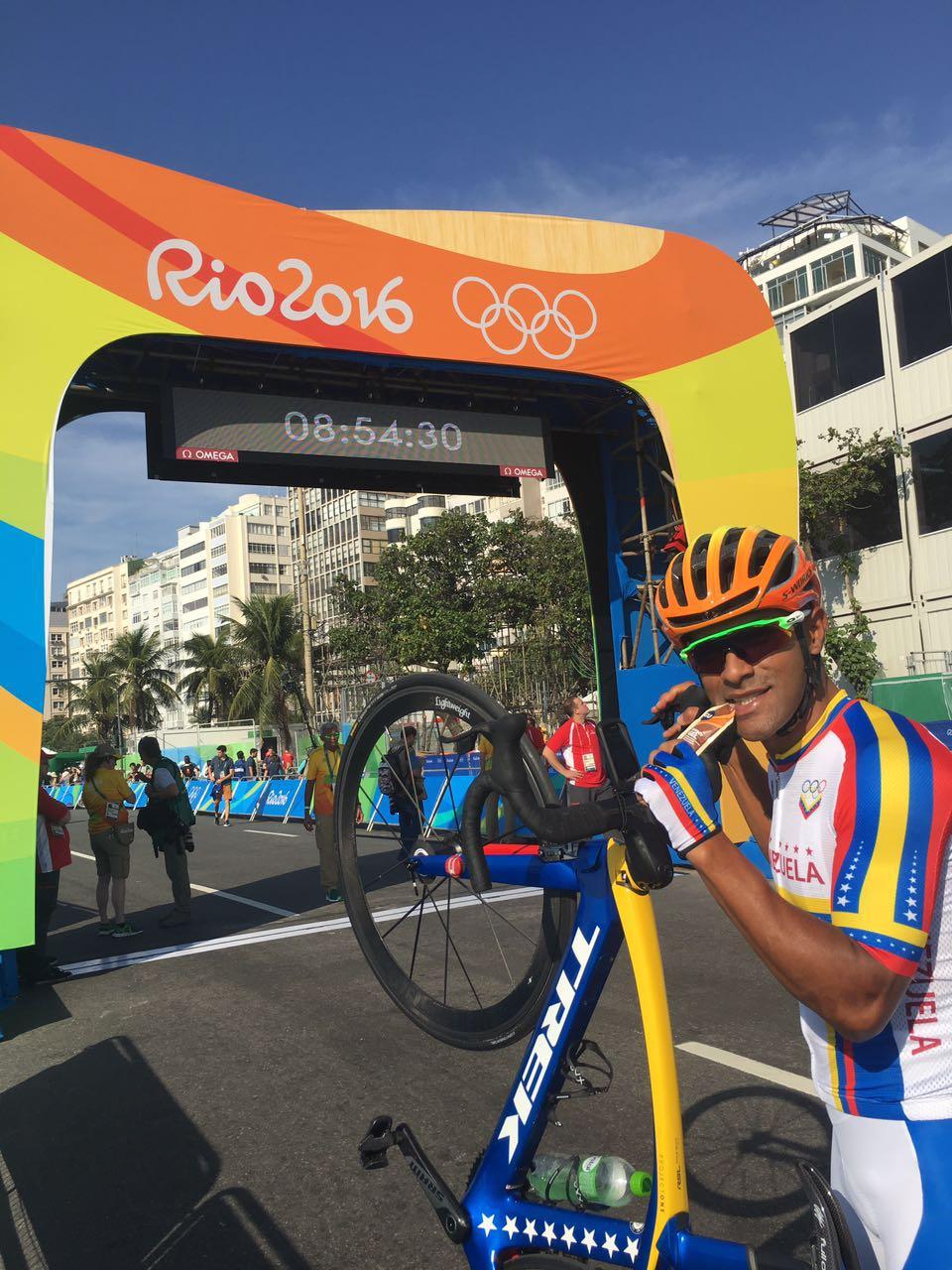 Miguel Ubeto en los Juegos Olímpicos