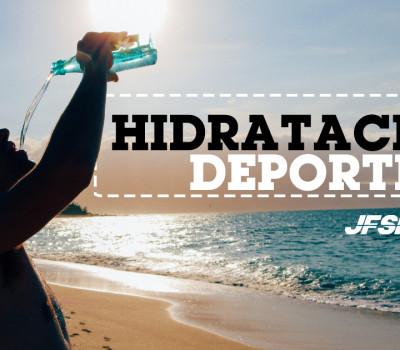 Hidratación Deportiva: ¿cómo hidratarte correctamente?