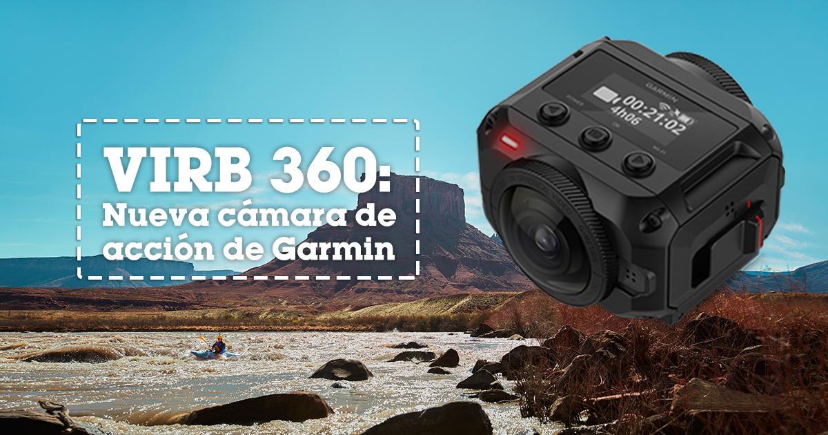 VIRB 360: la Nueva Cámara de Acción de Garmin