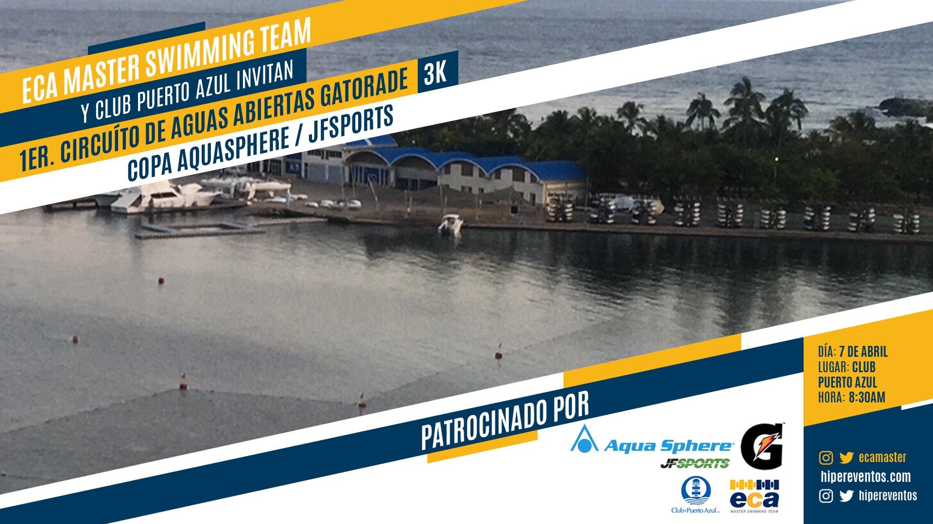 1era Válida Circuito Gatorade Aguas Abiertas - Copa AquaSphere JFSports