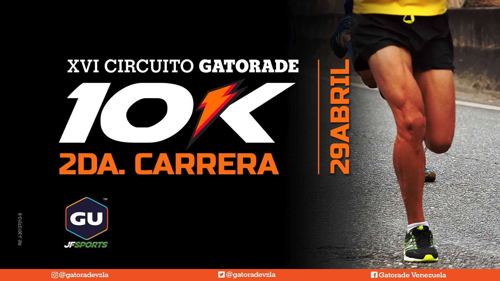 2da Carrera del XVI Circuito Gatorade 10K - Copa GU JF Sports
