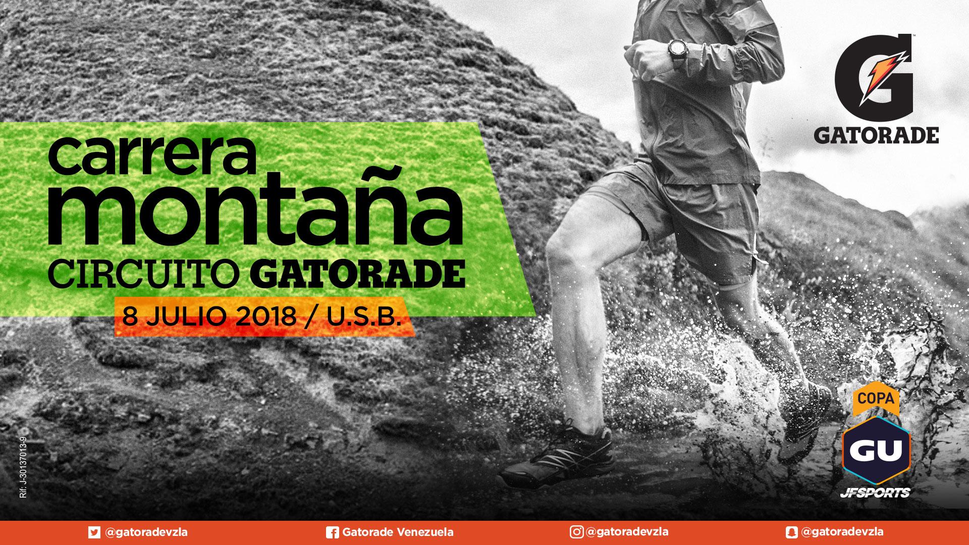 Carrera de Montaña Gatorade 2018 - Copa Gu JF Sports