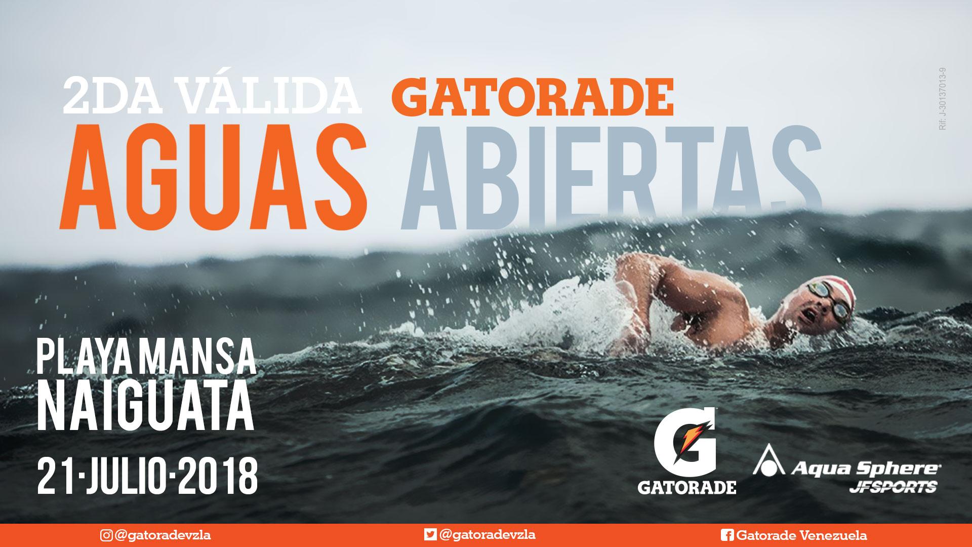 2da Válida Circuito Gatorade Aguas Abiertas - Copa AquaSphere JFSports
