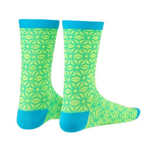 neon-yellow-blue-asanoha-socks