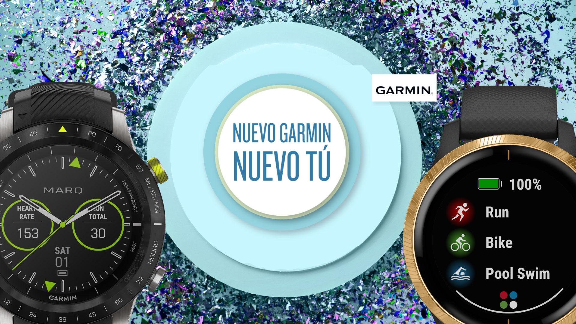Nuevo Garmin, Nuevo Tú