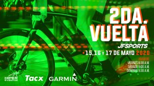 2da Vuelta de Ciclismo Virtual JF Sports @ Online