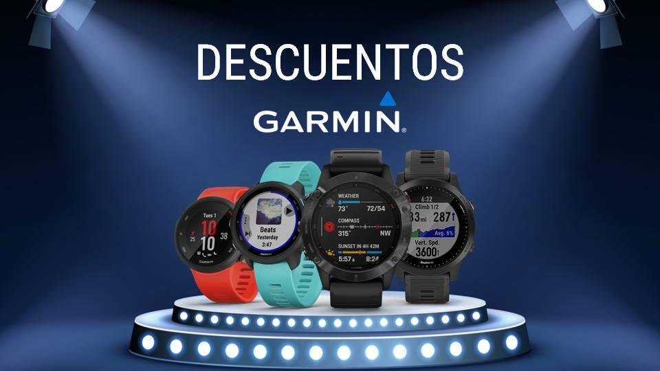 Promociones Garmin Mayo 2020
