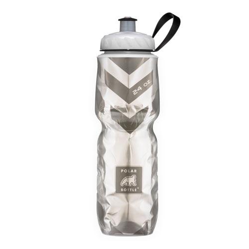 Insulated Pattern Chevron Negro – Polar Bottle