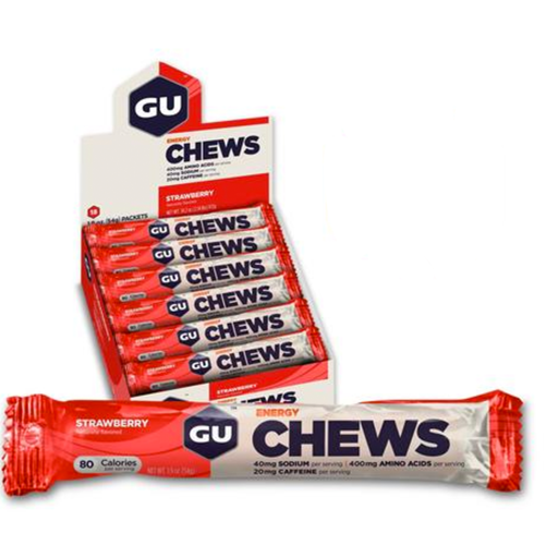 GU Chews Strawberry