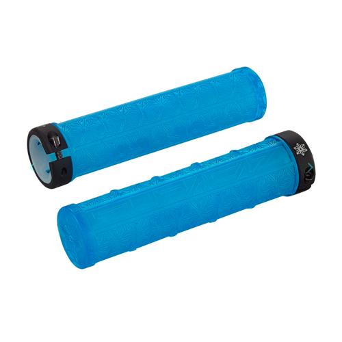 Puños de Goma Azul Transparente | Supacaz