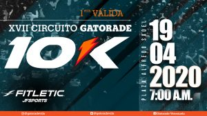 Carrera 10K XVIII Circuito Gatorade - Copa Fitletic @ Las Mercedes