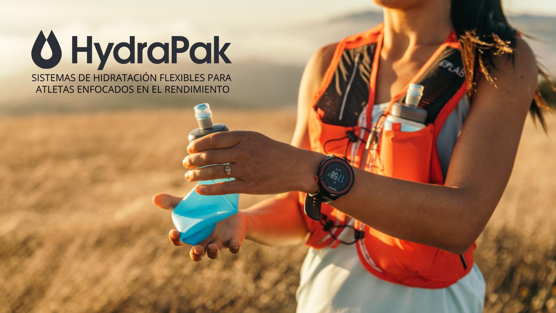 HydraPak - Sistemas de hidratación flexible
